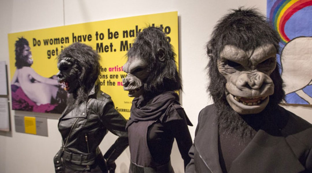 Have You Met Guerrilla Girls? Don´T Miss American Pussy Riots´ Art Activism